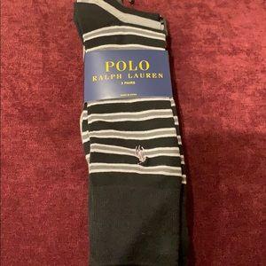POLO Ralph Lauren 3 Pairs Men's Casual Socks 10-13